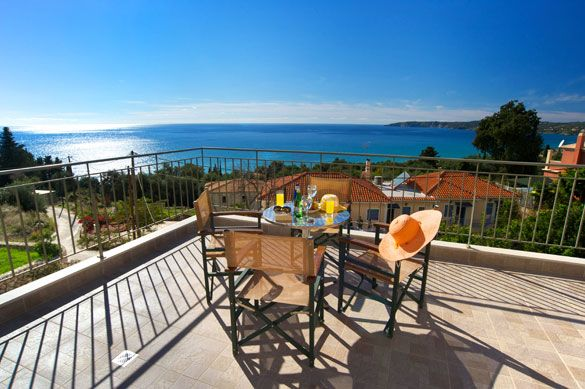 Villa Vounaki, Lourdas, Kefalonia, Greece. Find more at www.villaplus.com