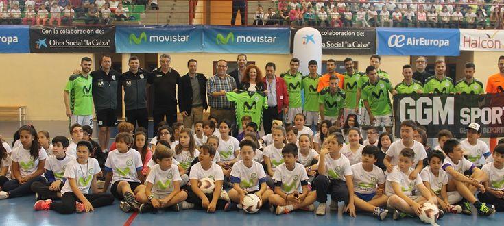 SALOBREÑA. Tras comenzar su gira ayer en Motril, el Club Movistar Inter ha llegado hoy a Salobreña donde han sido recibidos por la alcaldesa de la Villa, Mª Eugenia Rufino,