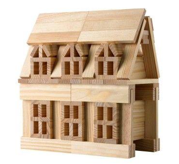 Citiblocs original wooden building block set for kids who love to build cool stuff.