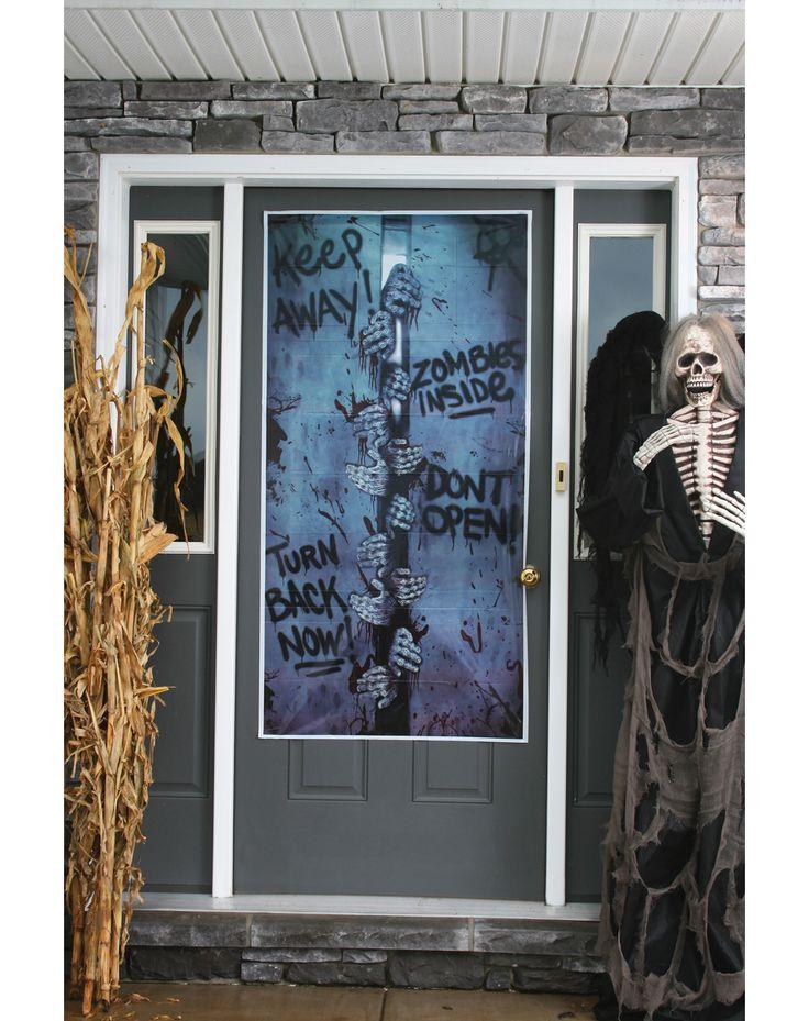 Glenda Peitz (glendapeitz) on Pinterest - scary door decorations for halloween