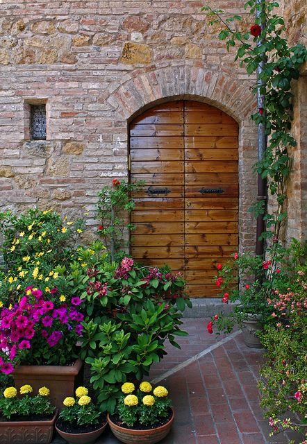 Tuscany Garden Door