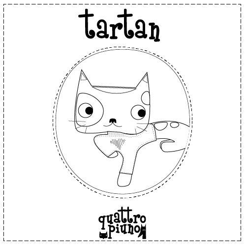 Il coraggioso Tartan! #adorable #cat