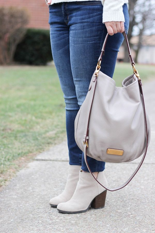 Marc by Marc Jacobs bag with Kenneth Cole booties