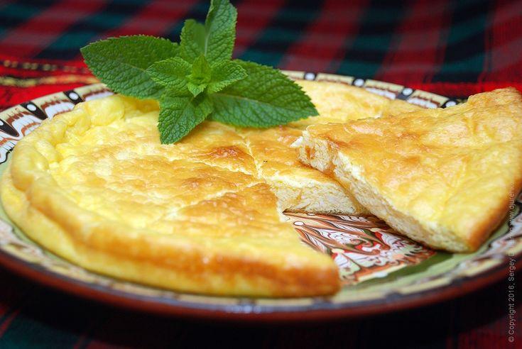 Борано (Аджария) - кавказский омлет с молодым сыром