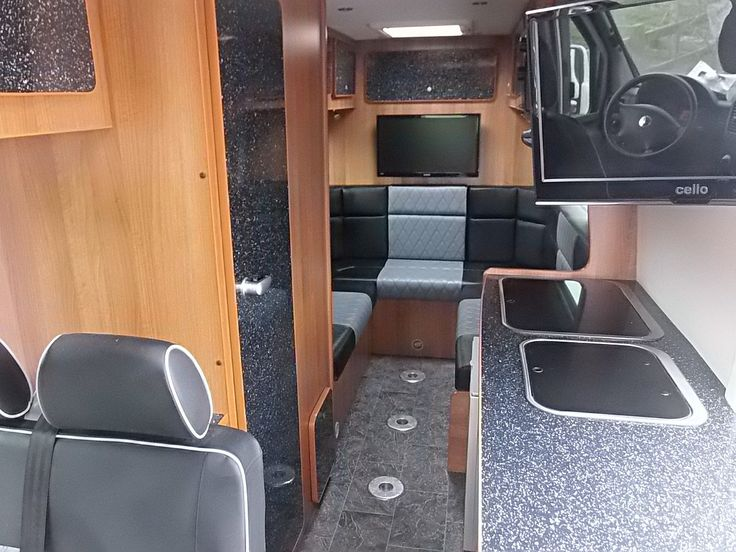 Camper interior furniture conversion kit for sprinter crafter r v sprinter bus tiny home - Kit de interior ...