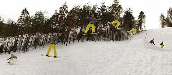 Никита Волков. Научиться кататься на сноуборде.