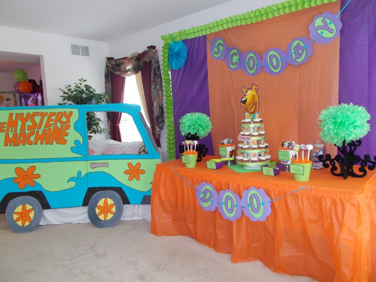 Decorations And Sweets Table Background Decorated With