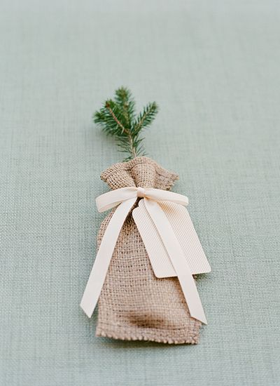 tree sapling favors | Melissa Schollaert #wedding