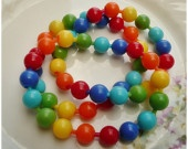 Pop beads from the 1950s...I LOVED them
