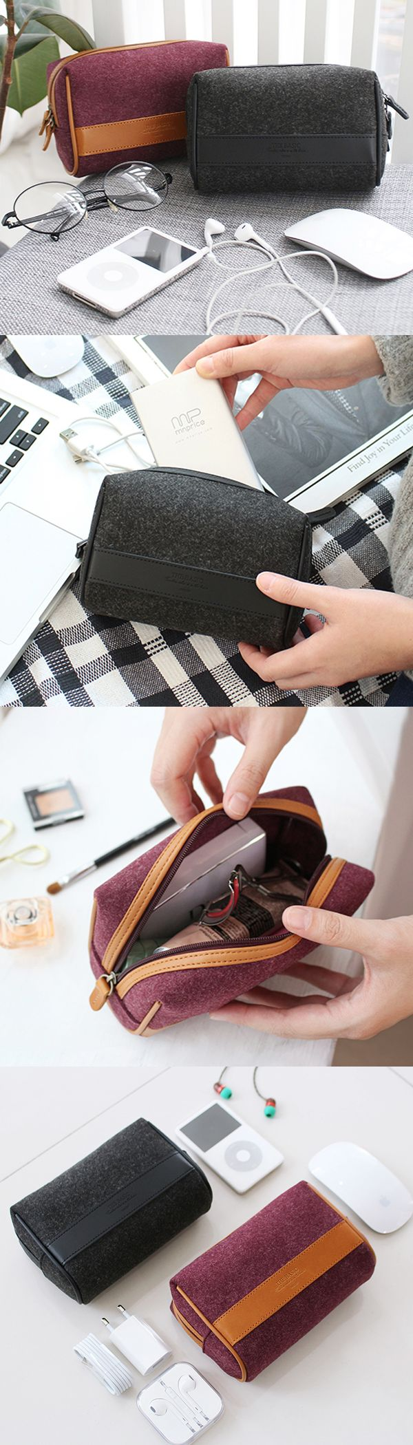 Love to carry my daily essentials in this stylish and durable pouch!