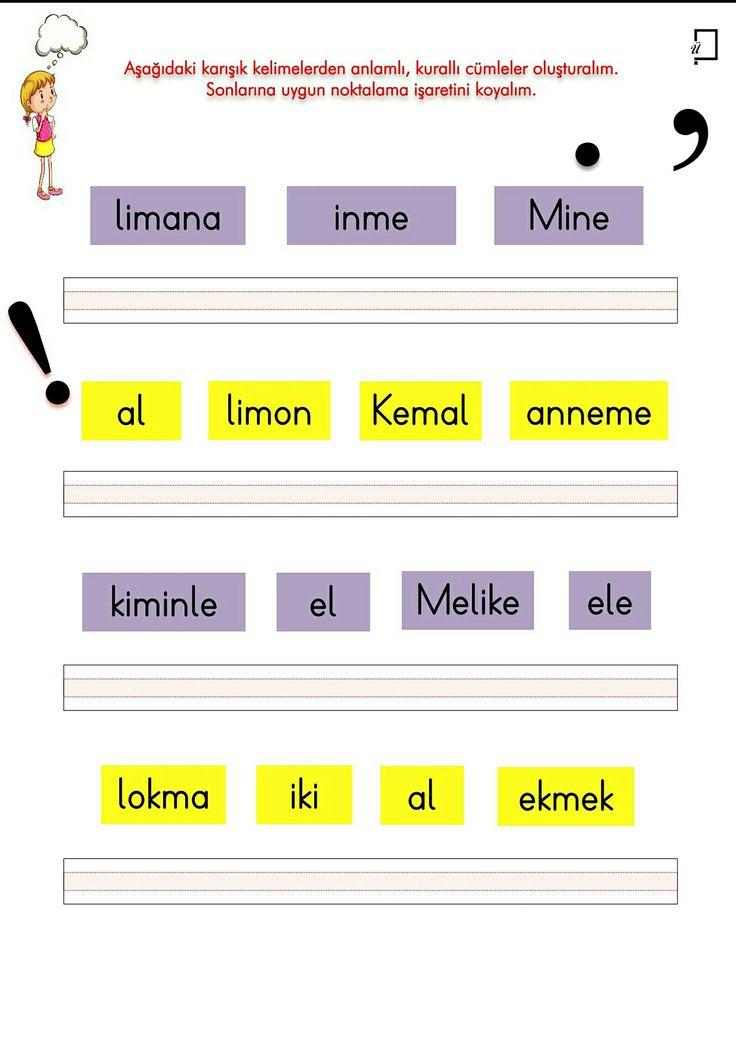 2. Grup Sesler Okuma Yazma Etkinlikleri