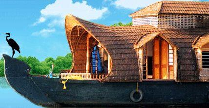 Kerala House Boat, House boat kerala, Boathouse Kerala, Kerala ...