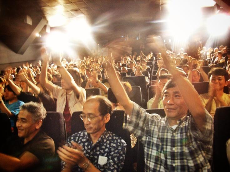 Audience - Opening Day - Carlos Lyra - Shibuya Q-AX Cinema, Tokyo