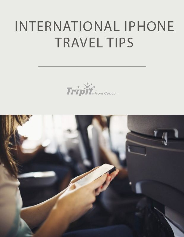 International iPhone Travel Tips