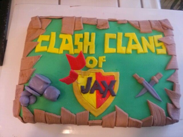 Clash of Clans Cake I Made