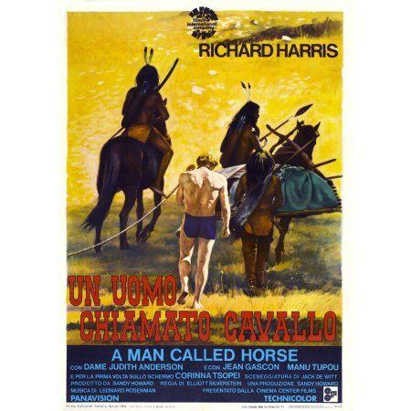 A Man Called Horse Canvas Art - (11 x 17)