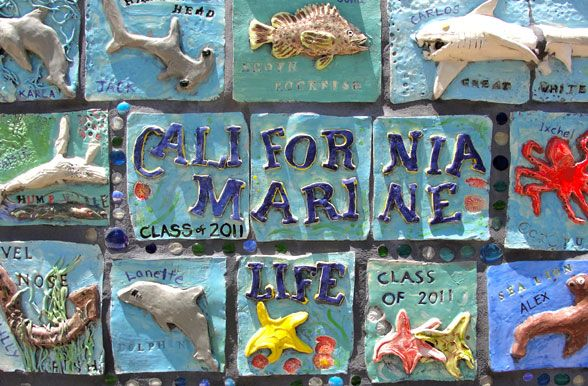 17 best images about clay mural on pinterest mosaics for Ceramic mural art