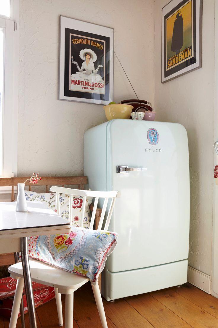 Guida di Dalani alle Pulizie di Casa Consigli per Pulire la Cucina Frigorifero Vintage