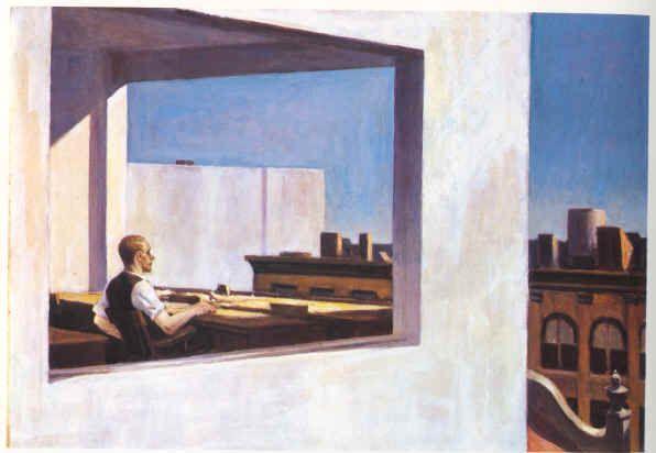 Edward HopperSmall Cities, Cities Art, Canvas Painting, Hopper 18821967, Metropolitan Museum, Corner Offices, Art History, Art Painting, Edward Hopper