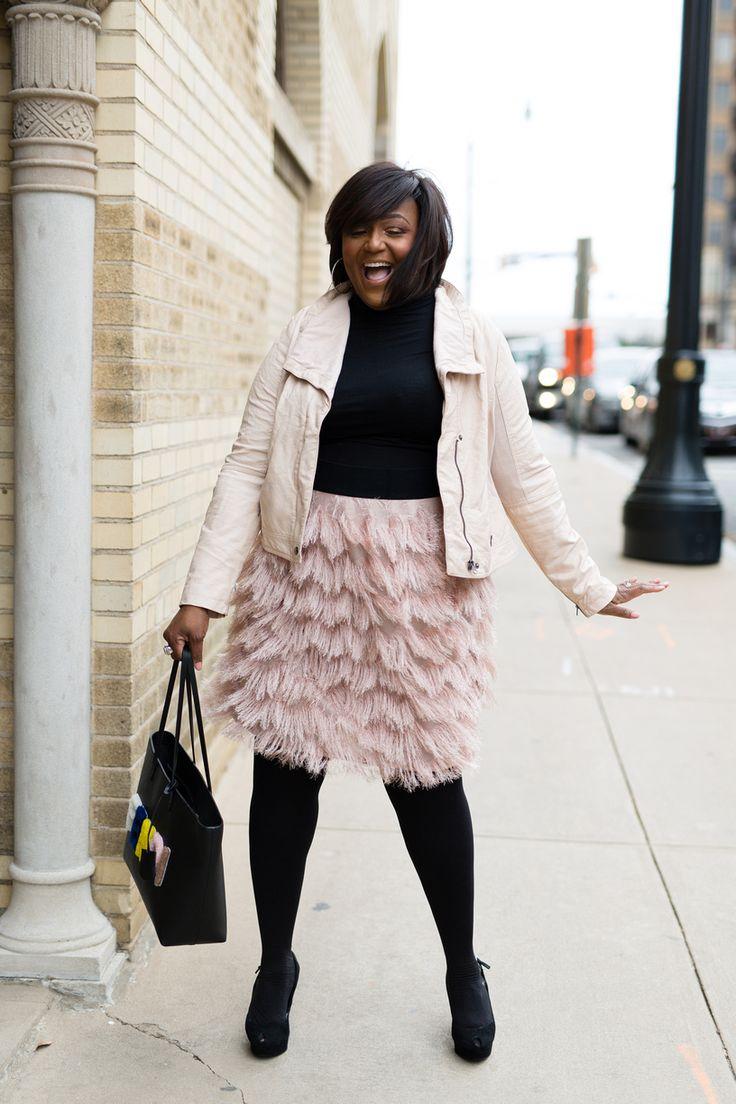Plus Size Fashion for Women - NikkiFreeSTYLE: STYLE: Flirty Fringe