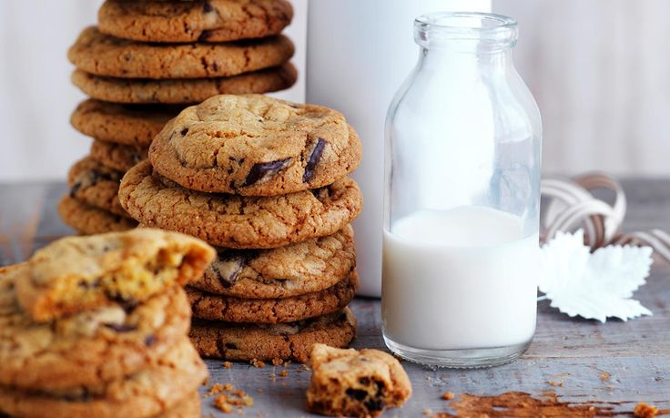 Chocolate chip cookies recipe - By Australian Women's Weekly, A classic biscuit that is loved by all, the humble chocolate chip cookie is beautiful enjoyed with a glass of milk or coffee. They're great to bake with little ones, too.