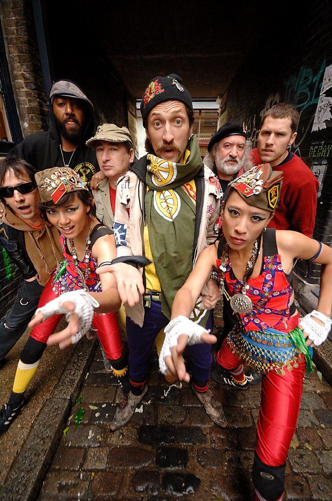 Gogol Bordello    Long live gypsy punk - 60 revolutions per minute - START WEARING PURPLE!