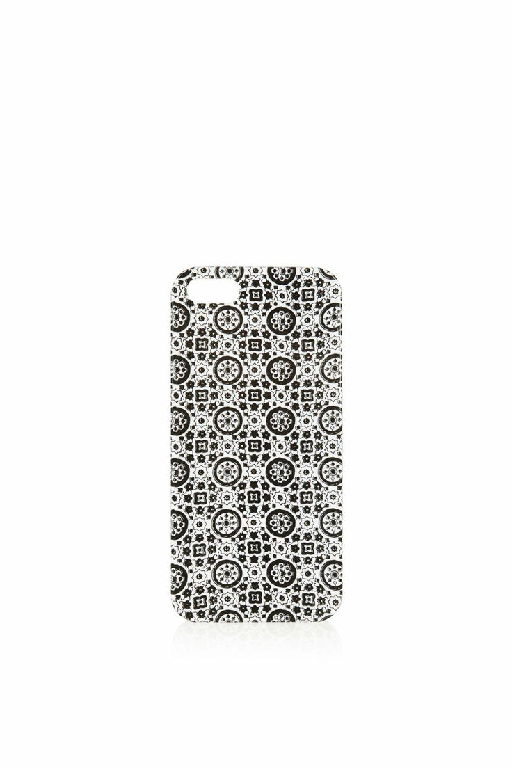 Tile Print iPhone 5 Shell - Phone & Tablet Cases - Bags & Purses - Bags & Accessories- Topshop