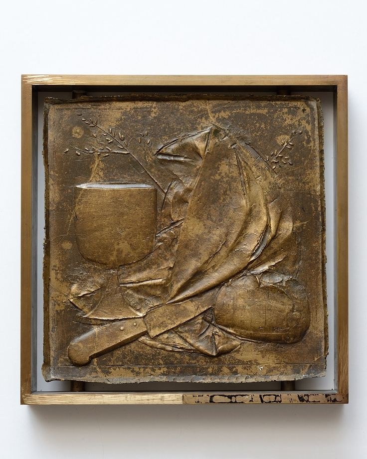 Bas-relief with Bread, Chalice and Cloth, 1958-78