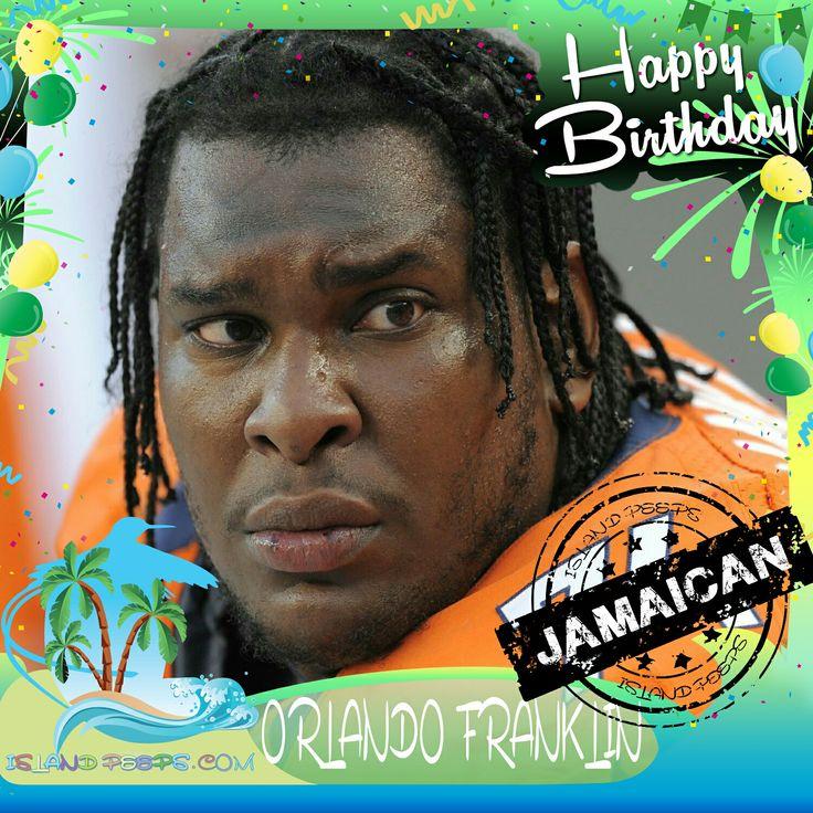 Happy Birthday Orlando Franklin!!! Jamaican born professional NFL Football player!!! Today we celebrate you!!! @orlando_franklin / @orlando.franklin #orlandofranklin #islandpeeps #islandpeepsbirthdays #jamaica #NFL #Toronto #denverbroncos
