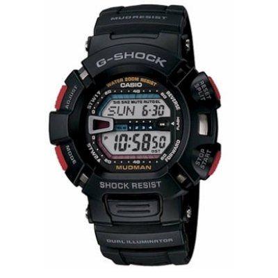 Casio G-Shock Mudman Quartz Black Resin G-9000-1VDR - http://www.specialdaysgift.com/casio-g-shock-mudman-quartz-black-resin-g-9000-1vdr/