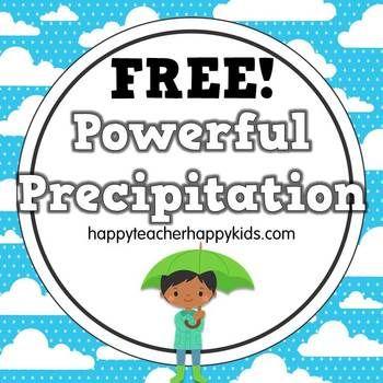 Free - Powerful Precipitation: K-2 Math & Science