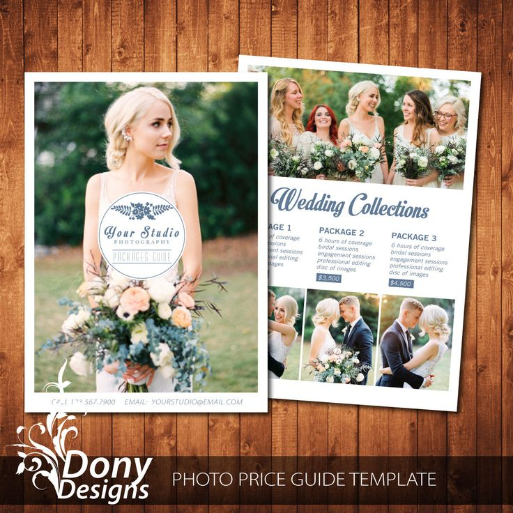 photography pricing template - Wedding Pricing Guide Template - Pricing guide Photoshop template Instant Download - BUY 1 GET 1 FREE: pg-022 by DonyDesigns on Etsy
