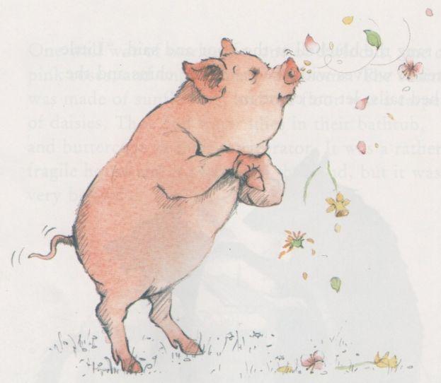 pig in flowers - Google zoeken