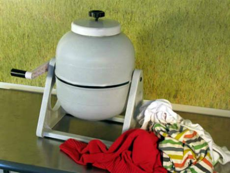 How to Wash Clothes without Electricity - Mom with a Prep blog
