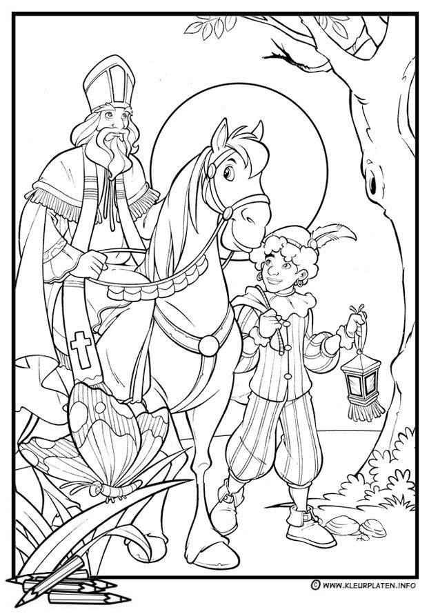 sinterklaas coloring pages - photo#16