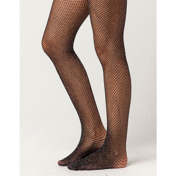 Lurex Fishnet Tights ($5.99) ❤ liked on Polyvore featuring intimates, hosiery, tights, metallic tights, lurex tights, fishnet stockings, fishnet pantyhose and fishnet tights