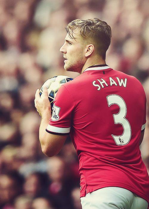 Luke Shaw from Manchester Utd