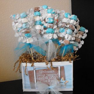 Baby boy shower favors cute idea for Caitlyn's baby boy
