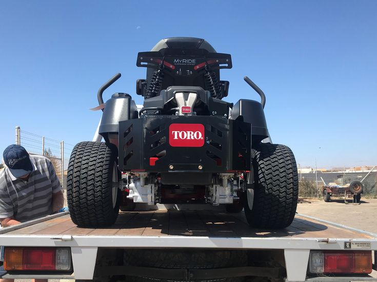 """Watch out Dongara, the new TORO TimerCutter MX5075 is in town.  50"""" wide fabricated deck powered by a 24.5 HP TORO Commercial V-Twin Engine and featuring the new MyRide Suspension System for smooth mowing even on the roughest blocks. Would like to try one? Just see us in store on 130 Flores Road. #mx5075 #zeroturn #toro #torolawnmower #new #newproduct #timecutter #exciting #bigboytoys #yardwork #greengrass #lawncarelife #mowing #lawncare #rideonmower #zeroturnmower #zeroturntractors"""