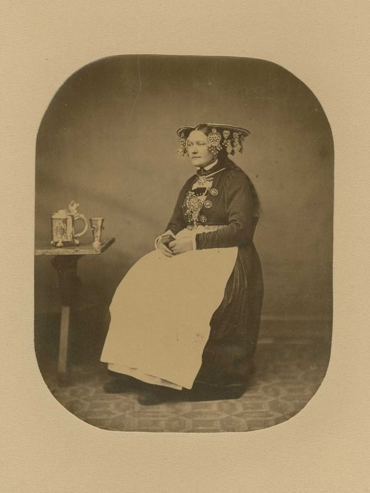 Bridal, Bergen Stift | 1862-1866 | Norsk Folkemuseum | Public Domain