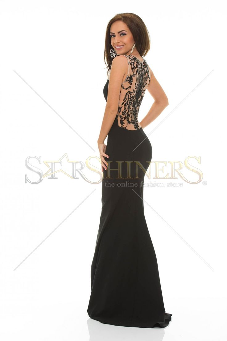 LaDonna Hypnotic Time Black Dress