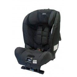 SILLA AUTO AXKID MINIKID: a contramarcha con el cinturón de seguridad de 3 puntos del vehículo, para niños con un peso de 9 a 25 kg.