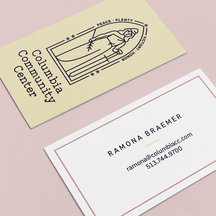 Columbia Community Center Business Card Design