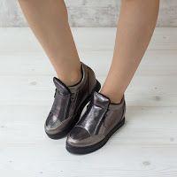 Sneakers dama Marika gun confortabili • modlet