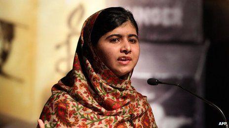 Malala Yousafzai wins EU's Sakharov human rights prize