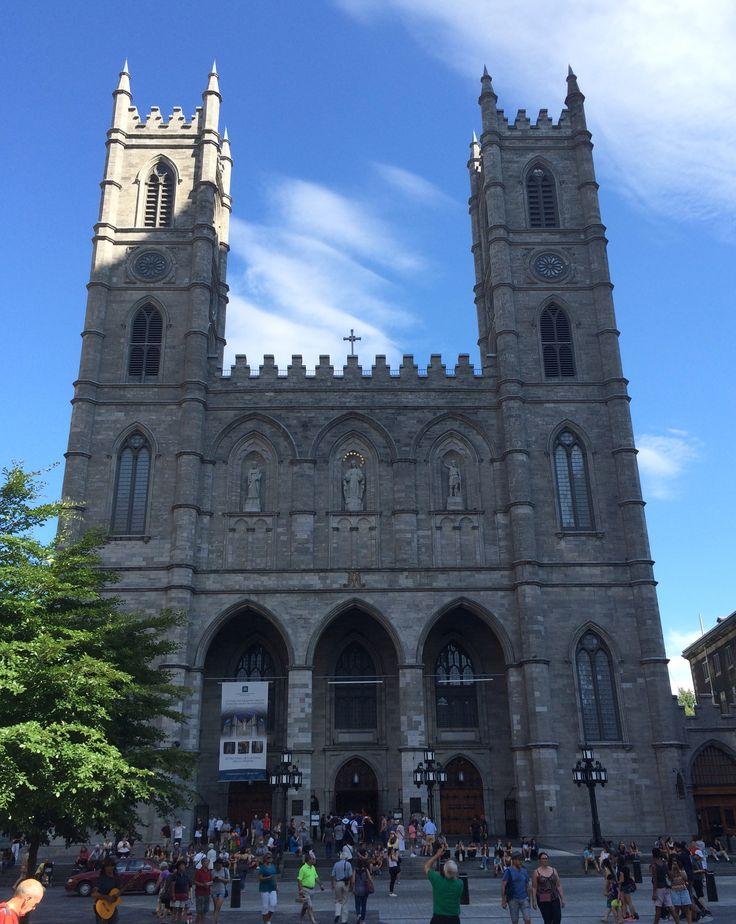 Basilique Notre-Dame de Montréal // Notre-Dame Basilica (Gothic, 1832) in Old Montréal. #montreal #quebec #canada #travel #architecture #notredame