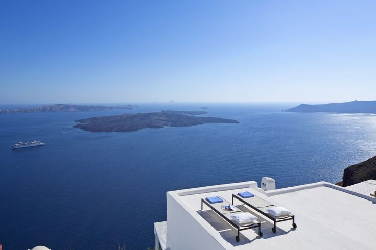 For a slice of heaven, it doesn't get much better than this. Phenomenal volcanic views, cool cavernous interiors… welcome to Santorini. Once a working bakery, this villa has been transformed into the perfect hide-away, great for couples or a small group of friends.