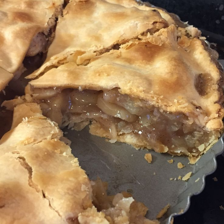 Apple pie. Apples are from apple picking.