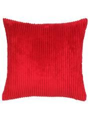 George Home Jumbo Cord Cushion 50x50cm - Red