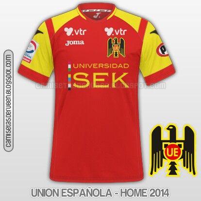 Union Espanola home shirt for 2014.